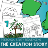 The Creation Preschool Bible Story Sequencing Lesson