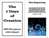 The Creation Story Booklet - Genesis 1 - Teaching Printable