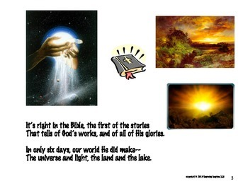 The Creation Story in Rhyme