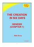 The Creation in Six Days Quiz Sheet - No Prep with Teacher