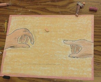 The Creation of Adam Sight Drawing Lesson