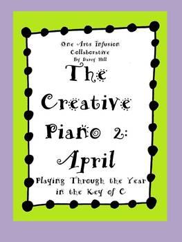 The Creative Piano 2: April Sheet Music