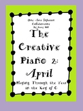 The Creative Piano 2: April Sheet Music