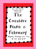 The Creative Piano 2- February Sheet Music