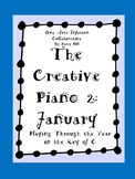 The Creative Piano 2- January Sheet Music