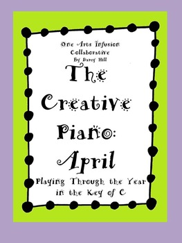 The Creative Piano- April Sheet Music