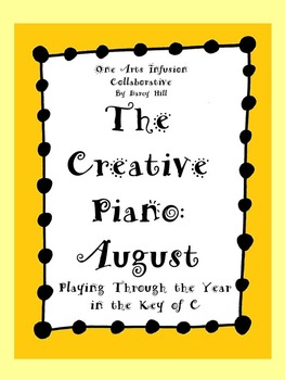 The Creative Piano- August Sheet Music