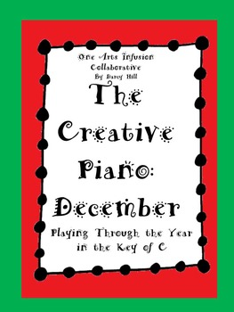 The Creative Piano- December Sheet Music