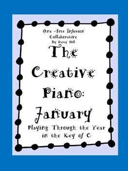 The Creative Piano- January Sheet Music