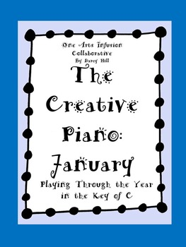 The Creative Piano- January Sheet Music