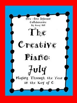 The Creative Piano- July Sheet Music