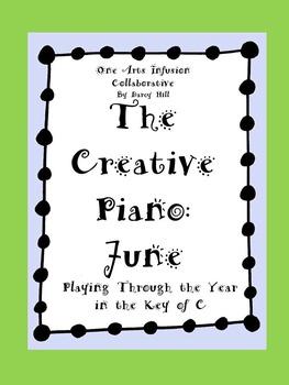 The Creative Piano- June Sheet Music