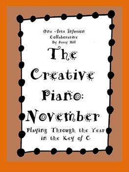 The Creative Piano- November Sheet Music