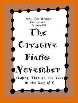 The Creative Piano- November Sheet Music