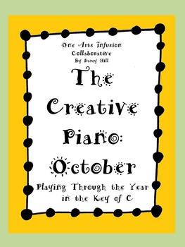 The Creative Piano- October Sheet Music