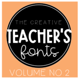 The Creative Teacher's Fonts Vol. 2