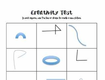 The Creativity Activity Kit