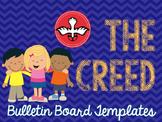 The Creed: Bulletin Board Templates