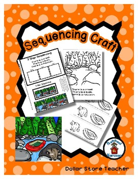 The Creek - Sequencing Reader Mat & Craft Page