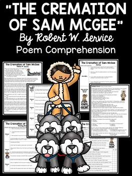 The Cremation of Sam McGee Poetry Reading Guide, Comprehension Questions