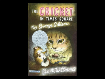 The Cricket in Times Square 116 Content Questions Whiteboard Game