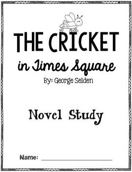The Cricket in Times Square: A Novel Study