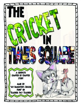 Cricket in Times Square - Novel Study