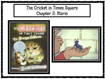The Cricket in Times Square Chapter 2 Excerpt PARCC-Like Assessment Questions