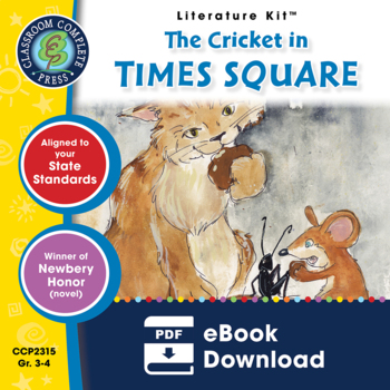 The Cricket in Times Square Gr. 3-4