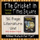 The Cricket in Times Square Literature Guide (Common Core Aligned)
