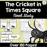 The Cricket in Times Square Novel Study