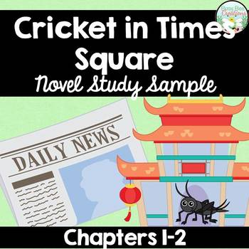 The Cricket in Times Square Novel Study Sample
