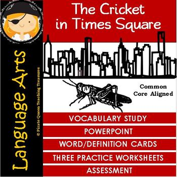 The Cricket in Times Square Vocabulary Activities/Common C