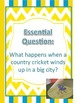 The Cricket in Times Square Vocabulary & Spelling Activities: Treasure Ut6 Ls2