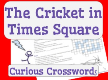 The Cricket in Times Square- Worksheet