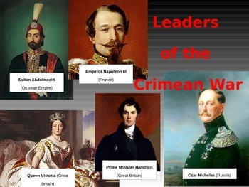 The Crimean War Animated Powerpoint & Guided Notes (5.6)