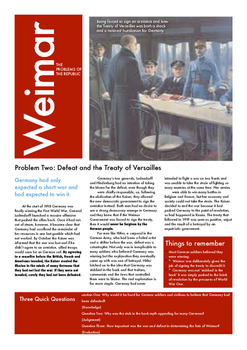 The Crises of Weimar Germany: Part Two