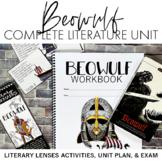 Beowulf Workbook + Complete Literature Unit (Activities, U