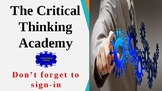 The Critical Thinking Academy-Presented by iMar Learning Solutions