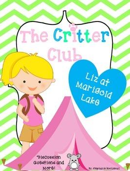 The Critter Club Liz at Marigold Lake