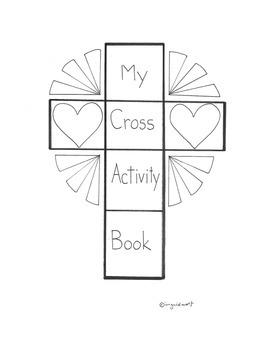 Catholic My Cross Activity Booklet