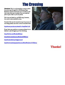 The Crossing Movie Guide for the American Revolution