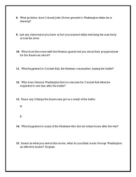 The Crossing Movie Questions