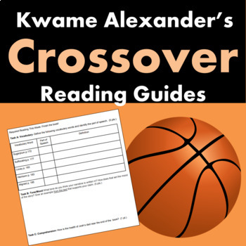 The Crossover by Kwame Alexander Reading Guide Bundle