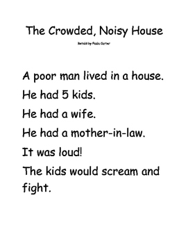 The Crowded Noisy House