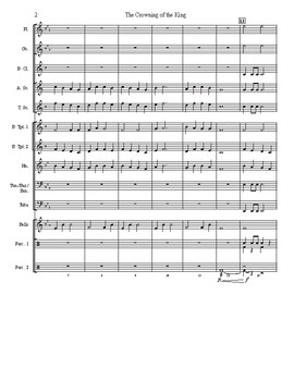 The Crowning of the King - Beginning Band Piece