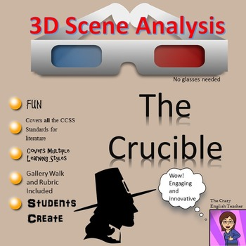 The Crucible: 3D Scene Analysis Project: Standards Based