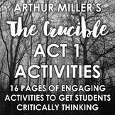 The Crucible Act 1 Activities