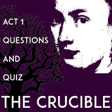 The Crucible Act 1 Questions and Answers: Worksheets | Qui