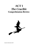 The Crucible Act I Review and Comprehension Questions